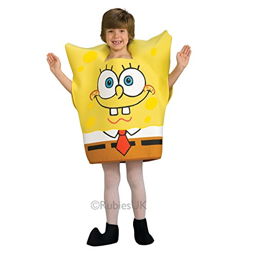 Rubies Childrens Spongebob Squarepants Cartoon Fancy Dress Costume