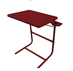Ibs Tablemate Adjustable Portable Platinum With Double Footrest Kids Office Meal Table Brown