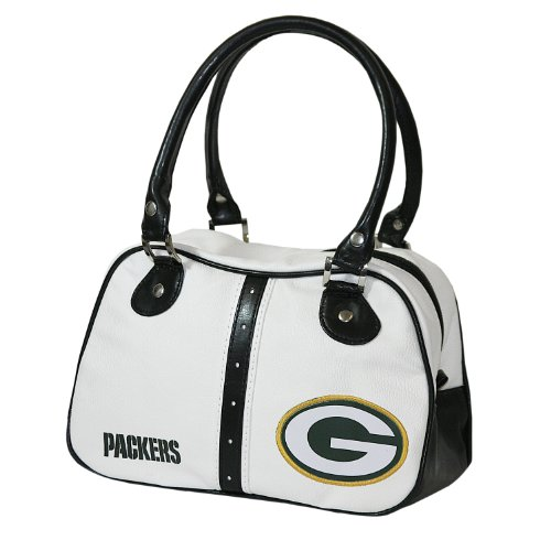 NFL Green Bay Packers Ethel Pebble Handbag, White at Amazon.com