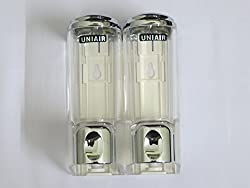 UNIAIR DOUBLE SOAP DISPENSER
