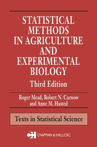 Statistical Methods in Agriculture and Experimental...