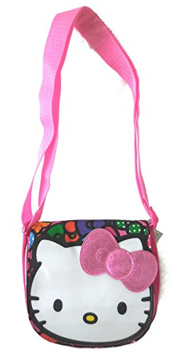Hello Kitty Loving Bows Pink Crossbody Swingpouch Bag