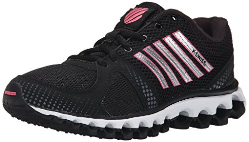 K-Swiss Women's X-160 CMF Training Shoe, Black Camelia Rose, 8 M US