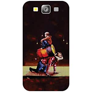 Samsung I9300 Galaxy S3 Phone Cover -Artful Matte Finish Phone Cover