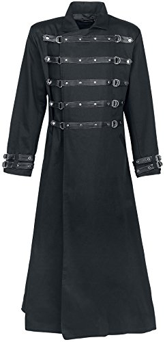 Gothicana by EMP Bondage Coat Cappotto nero S