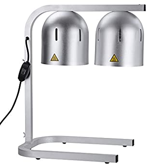 commercial food heat lamp dual bulb countertop. Black Bedroom Furniture Sets. Home Design Ideas