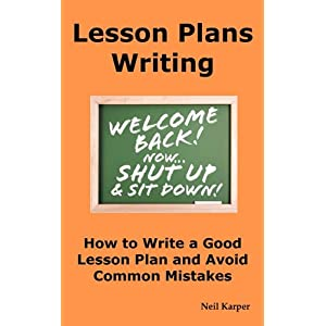 Write a how to lesson plans
