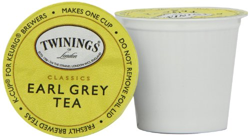 Twinings Earl Grey Tea, 24 Count (Pack of 2) (Earl Tea Keurig compare prices)