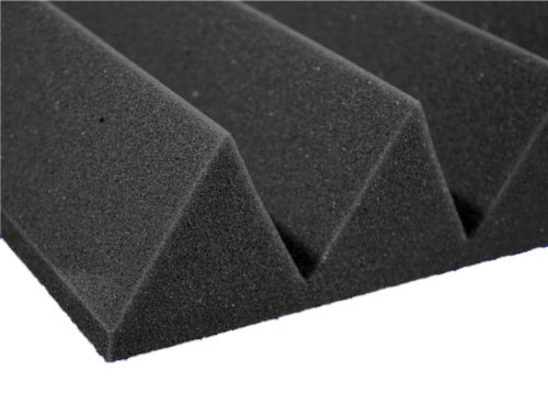 12 Pack Of (12X12X3)Inch Acoustical Wedge Foam Panel For Soundproofing Studio & Home Theater-Charcoal Grey
