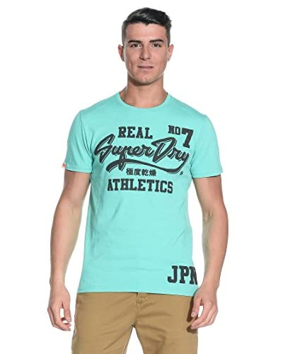 T-Shirt Manica Corta Entry-Real Number 7 [Verde]