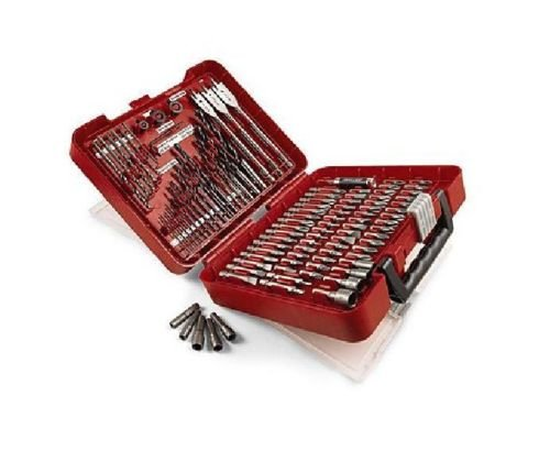 Awesome Craftsman 100-Pc Accessory Piece Drill Set Case 31639 Drill Screw Bit