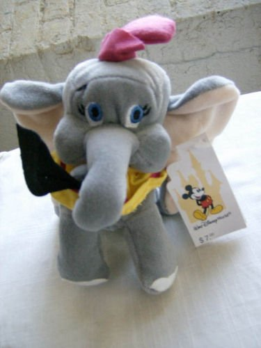 Walt Disney World Dumbo Plush Bean Bag - 1