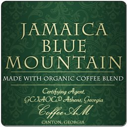 Jamaica Blue Mountain Organic Coffee Blend