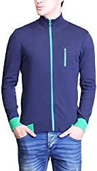 TSAVO Men's Cotton Sweatshirt SKU_1479_NAVY_XXL