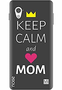 Noise Designer Printed Case / Cover for InFocus M370i / Quotes/Messages / Keep Calm and Love Mom Design