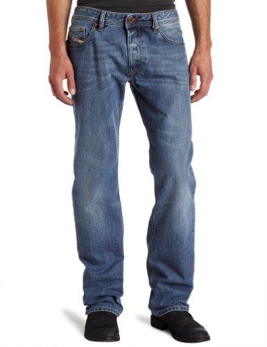 Diesel Larkee 73p Straight Blue Man Jeans Men - W36l32
