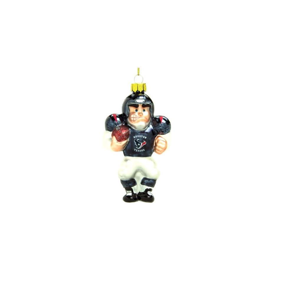 BSS   Houston Texans NFL Glass Player Ornament (5