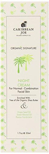 caribbean-joe-organic-signature-night-cream-for-normal-combination-skin-17-ounce-by-caribbean-joe