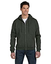 Champion Eco� 9 oz.; 50/50 Full-Zip Hood - ATH GREEN HEATHR - XL