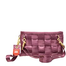 HARVEYS Hipster Wristlet, Plum Purple, one size