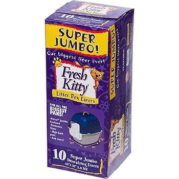 Royal Pet Fresh Kitty Super Jumbo Drawstring Litter Box Liners (Fresh Kitty Litter Box Liners compare prices)
