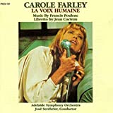 echange, troc Farley, Adelaide So, Serebrier - Poulenc: La Voix Humaine