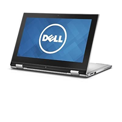 Dell Inspiron 11 3158 Z563101HIN9 11.6-inch Touchscreen Laptop (Core i3-6100U/4GB/500GB/Windows 10/Integrated Graphics), Silver