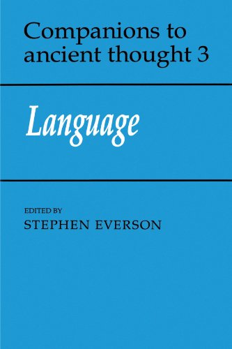 Language Paperback (Companions to Ancient Thought)