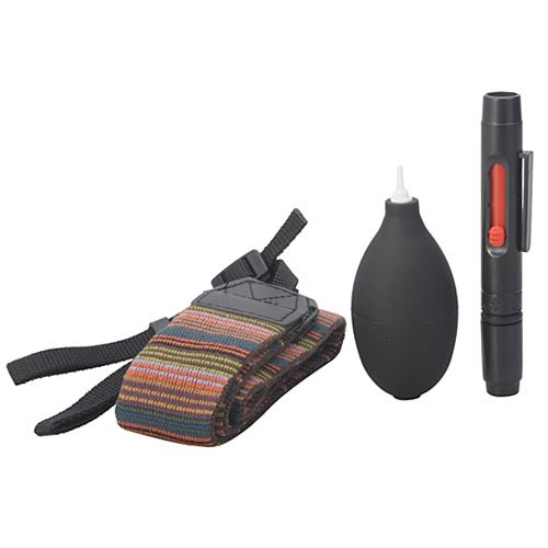 Brand New 4 In 1 Neck Strap + Dust Air Blower + Lens Pen + Cleaning Cloth Set Professional Camera Accessories Set For Dslr