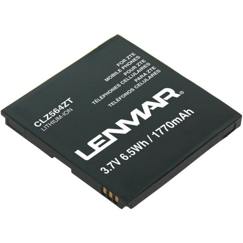 Lenmar CLZ564ZT 1770mAh Battery (For ZTE Warp N860)