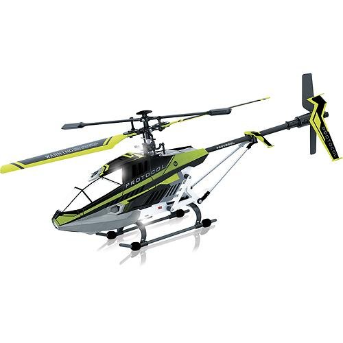 Protocol - Predator SB 35-Channel Remote-Controlled Helicopter - Black Green