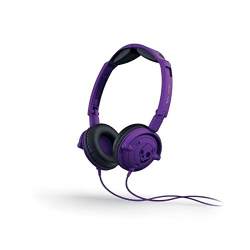 Skullcandy S5Lwfy-210 Supreme Lowrider On-Ear Headphone With Mic (Athletic Purple)