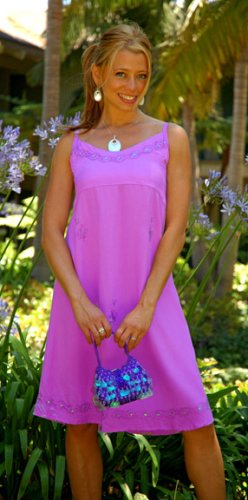 WOMENS SUN DRESS / SUNDRESS 'LAVENDER'