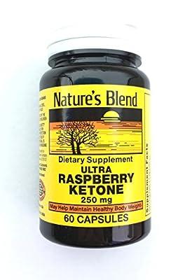 Ultra Raspberry Ketone by Nature's Blend - 250 mg Capsules