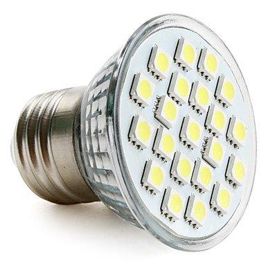E27 5050 Patch 21 - White Led 200-220 Lm Bulb (230 V, 3-3.5 W)