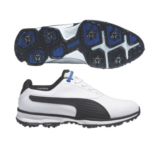 New Puma  Titanlite Mens Golf Shoes White Poseidon