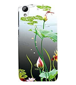 GADGET LOOKS PRINTED BACK COVER FOR HTC DESIRE 626 MULTICOLOR