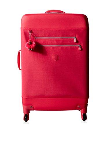 Kipling Monti L Medium Wheeled Suitcase, Vibrant Pink