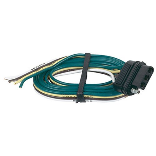 Hopkins 48035 4 Wire Flat Vehicle End Connector (Harness Wiring Ford Mustang 2003 compare prices)