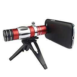 Apexel 18x Zoom Telephoto Lens/ 150x Super Macro Lens for Samsung Galaxy S3 I9300