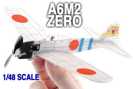 Micro Flight Classroom Fighter Zero A6M2 Ready-To-Fly Set