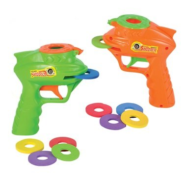 Foam Disc Gun - Galaxy Shooter (Package of Two Guns)