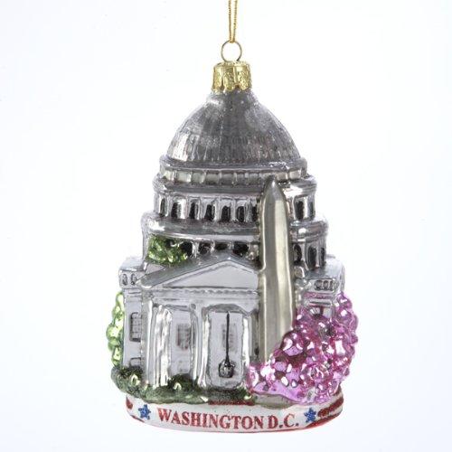Washington dc christmas ornaments