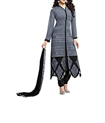 Poonam Fab-Unstitch Dress Material_Hans_Grey