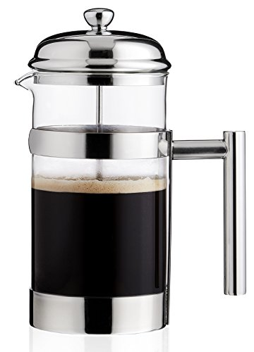 Best Buy! Hunt Brothers French Press Coffee Maker 8 Cups/4 Mug, 1L, 34 oz | Best Coffee Press Pot, H...