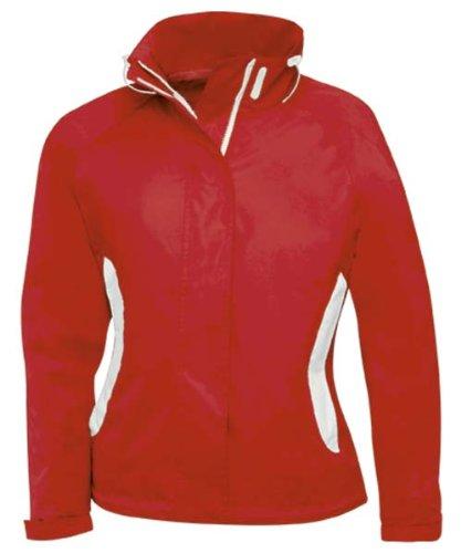 B c veste coupe vent imperm able waterproof sparkling women rouge 471 42 taille s - Veste coupe vent impermeable femme ...