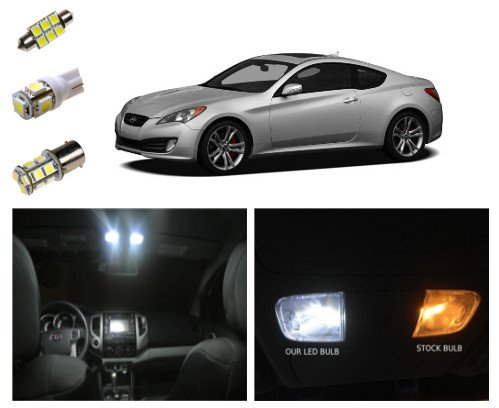hyundai genesis coupe led kit interior tag reverse lights 9 pieces vehicles parts vehicle. Black Bedroom Furniture Sets. Home Design Ideas