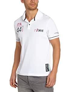 Helly Hansen Racing HP Polo tactel manches courtes homme Blanc S