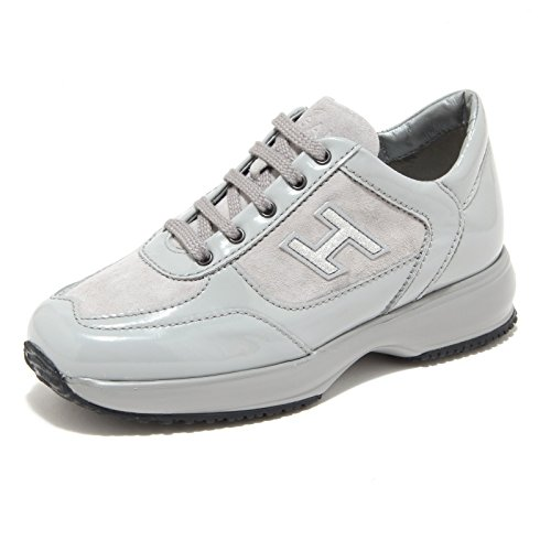 8391M Interactive HOGAN JUNIOR scarpe bimba sneaker shoes kids grigio [33]