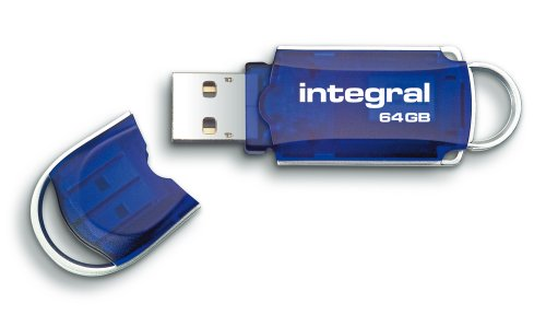 Integral Courier 64GB USB 2.0 Flash Drive